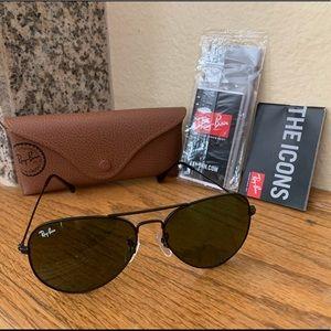 Ray-Ban Aviator Sunglasses 58mm NEW